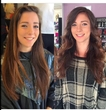 Reegan's before and after look is using Colours from our recent Collour Collections, GHD wands, and TiGi Salt Spray.