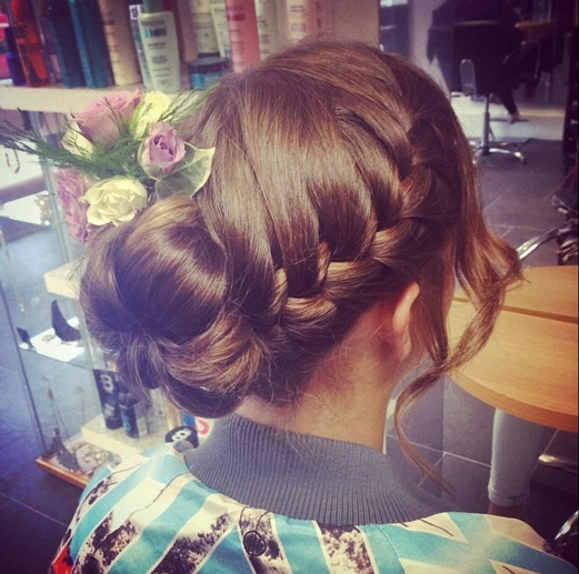 Bridal Hairstyling in Milton Keynes by The Joseph's Experience